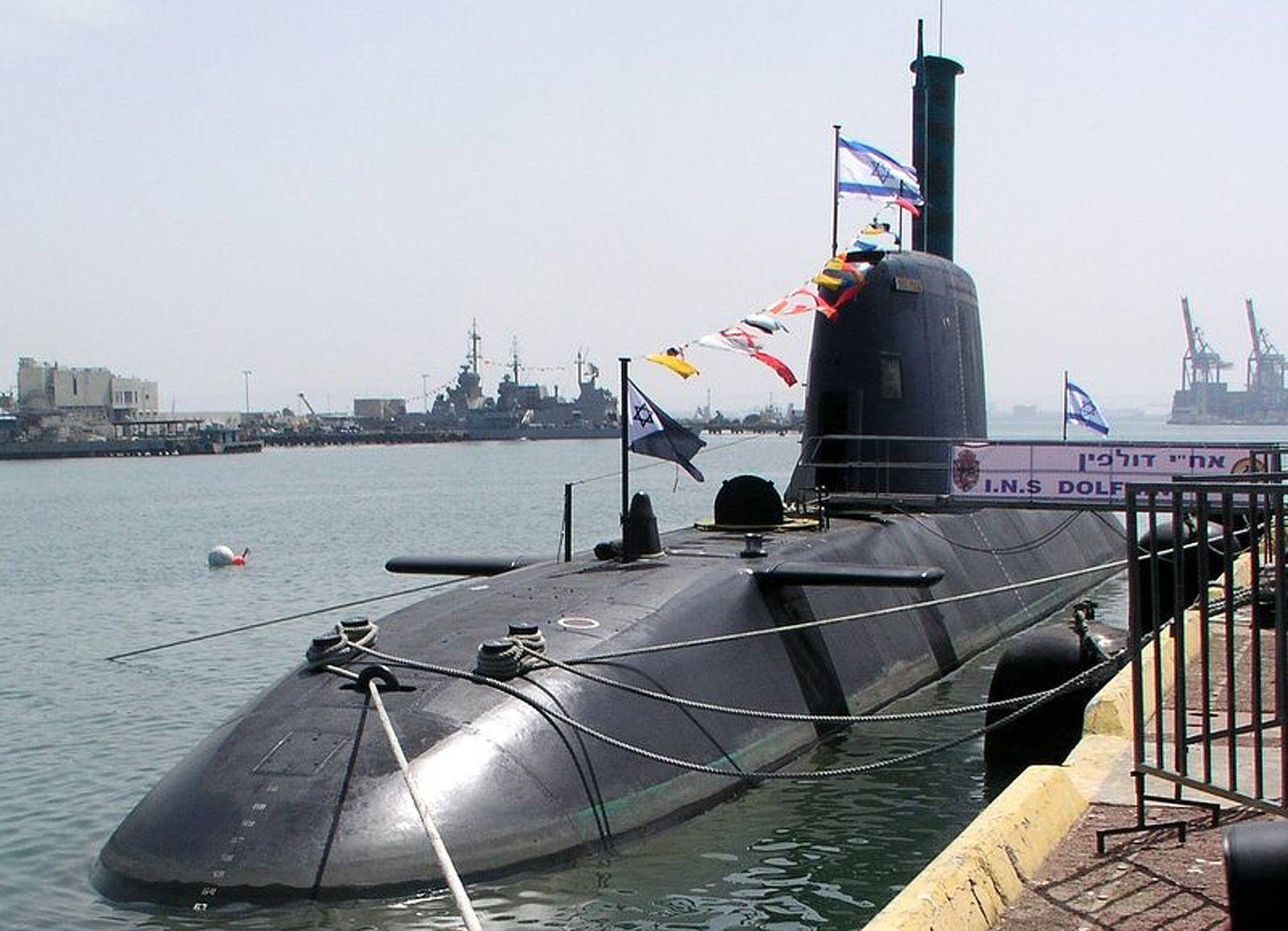 """Deutsches U-Boot der """"Dolphin""""-Klasse"""