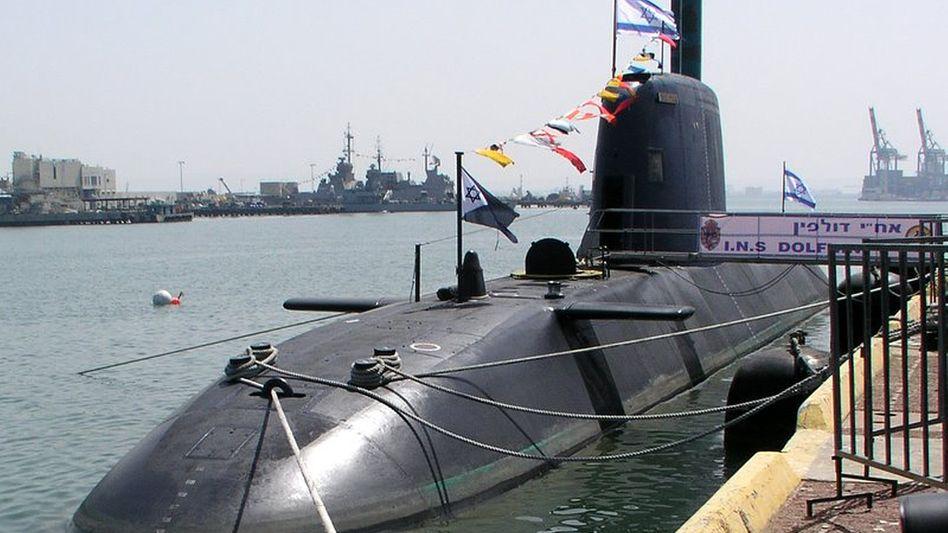 """U-Boot der """"Dolphin""""-Klasse der israelischen Marine (Archiv)"""