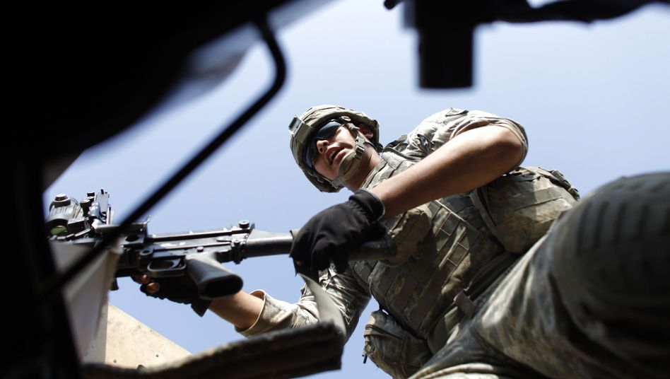 Task-Force-Soldat in Afghanistan: 300 Mann rücken in Masar-i-Scharif ein