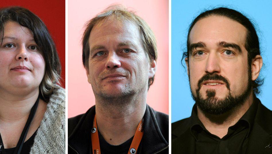 Zurückgetretene Piraten Schmiedke, Bartels, Semrau: Halber Vorstand abgetreten