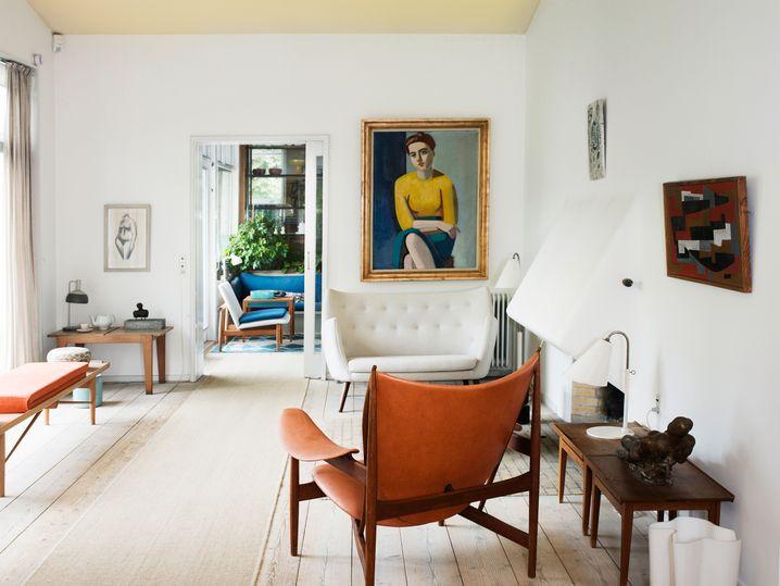 Die Wurzeln des Skandinavischen Stils: Finn Juhls Wohnhaus im Jahr 1941
