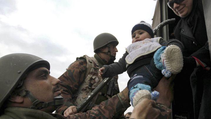 Kinder als Flüchtlinge: Die Massenflucht der kleinsten Syrer