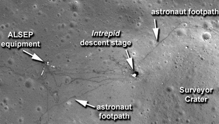 """""""Apollo""""-Aufnahmen: Was von den Mondmissionen übrig blieb"""