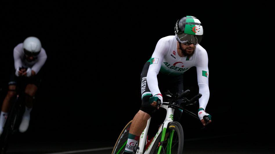 Azzedine Lagab beim olympischen Zeitfahren: »Wenigstens war ich in Tokio dabei«