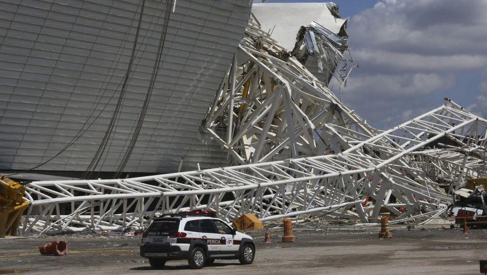 Stadionunfall in São Paulo: Frist von der Fifa verlängert