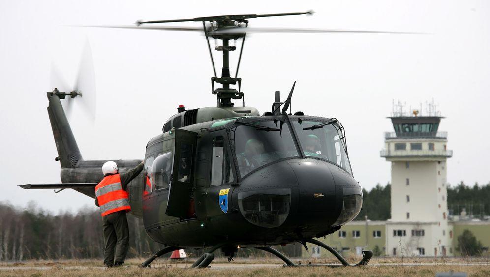 Bundeswehr: Luftretter in Uralt-Helis