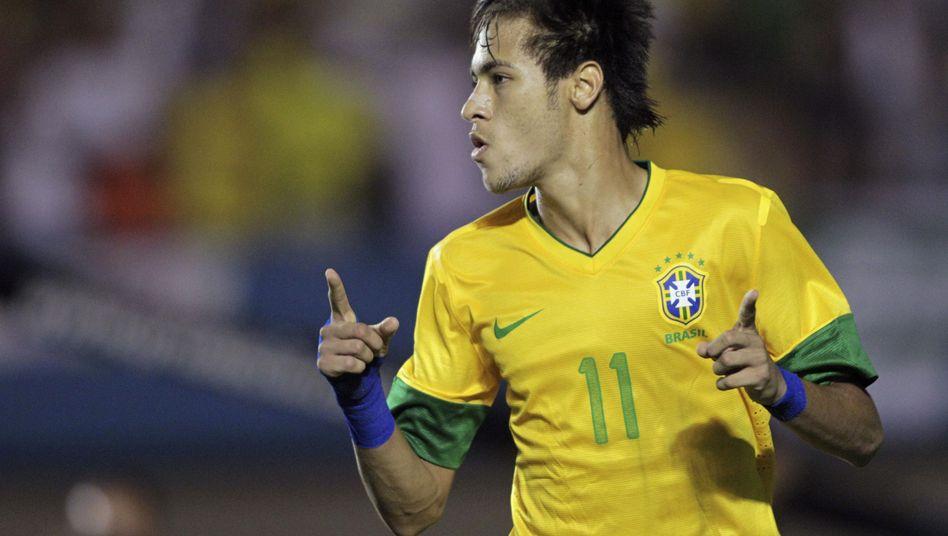 Brasiliens Star Neymar: Elfmeterschütze in der Nachspielzeit