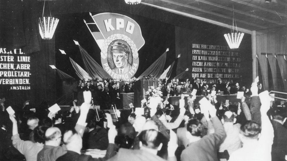 West-Kommunisten im Untergrund: »Trotz Verbot KPD bleibt«