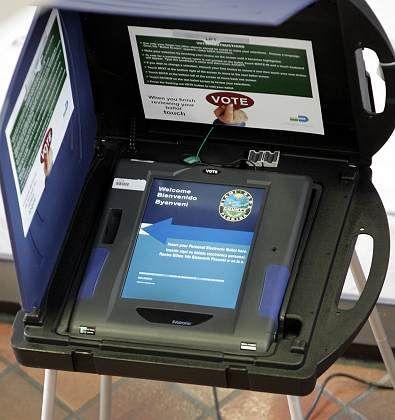Neue Wahlmaschine in Florida