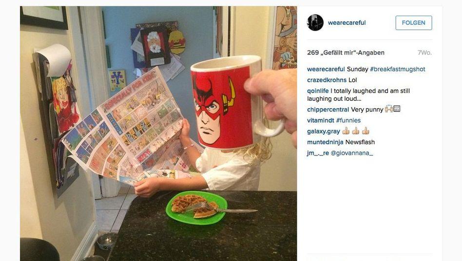 Bild aus der Reihe #breakfastmugshots: Flash am Morgen