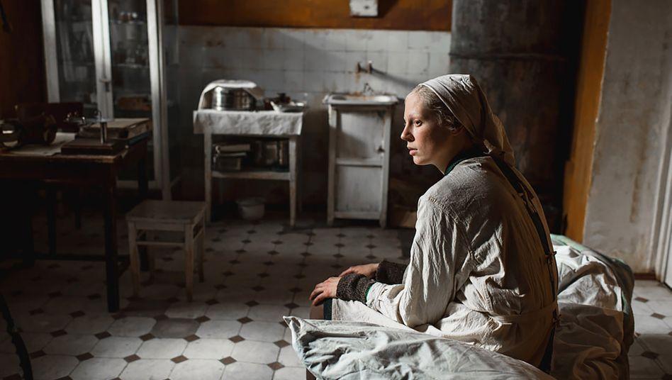 Hauptdarstellerin Viktoria Miroshnichenko: Frau im Schockzustand