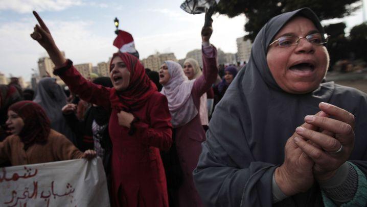 Proteste in Ägypten: Mubaraks Gegner geben nicht auf