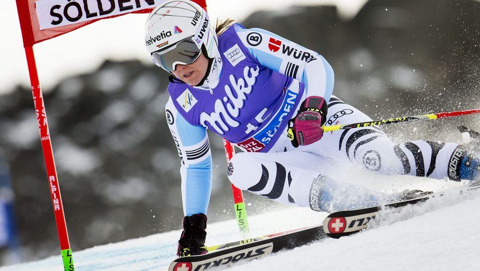 Skirennfahrerin Rebensburg: Für die WM qualifiziert