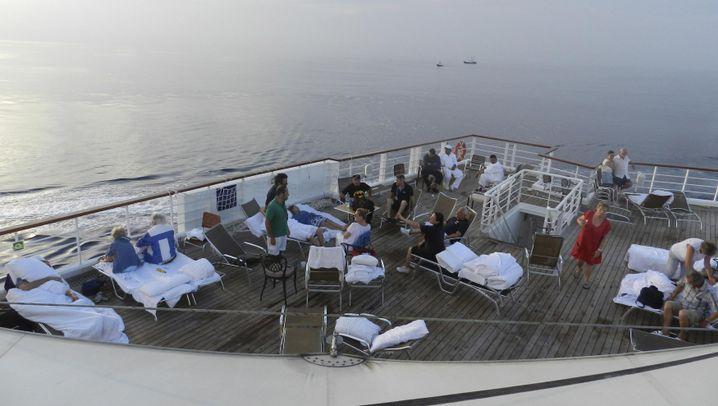 """Costa Allegra"": Alle an Deck"