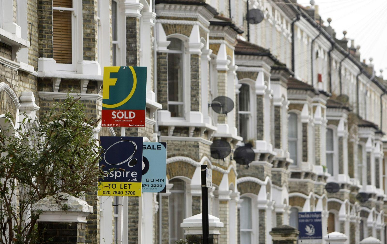 Britain Housing Sales