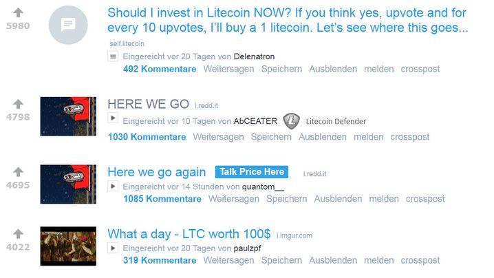 Bitcoin und Co.: Das passiert in Krypto-Foren auf Reddit