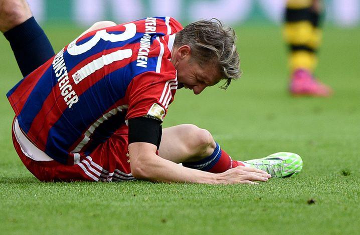 Verletzungsanfälliger Bastian Schweinsteiger