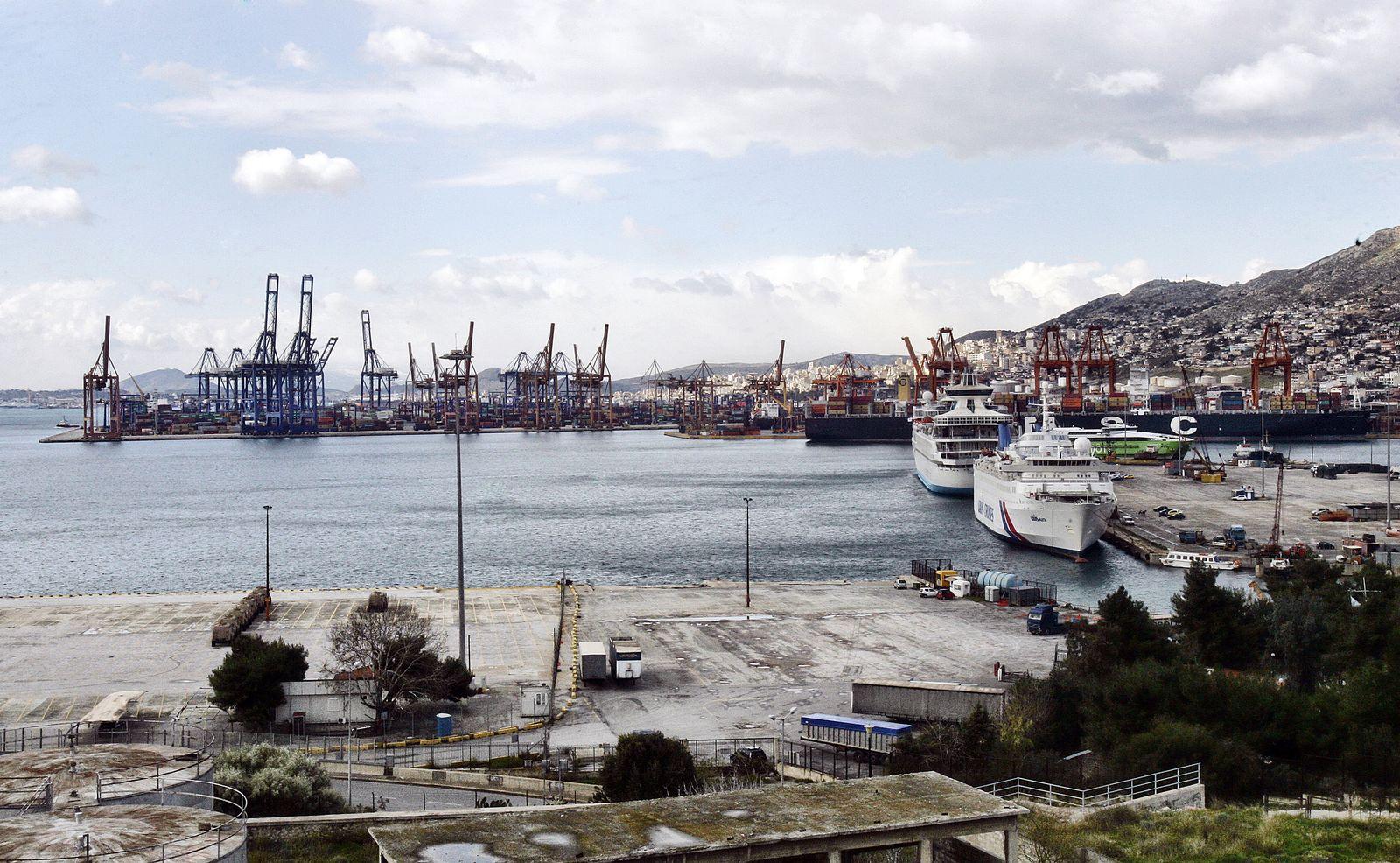Hafen Piräus