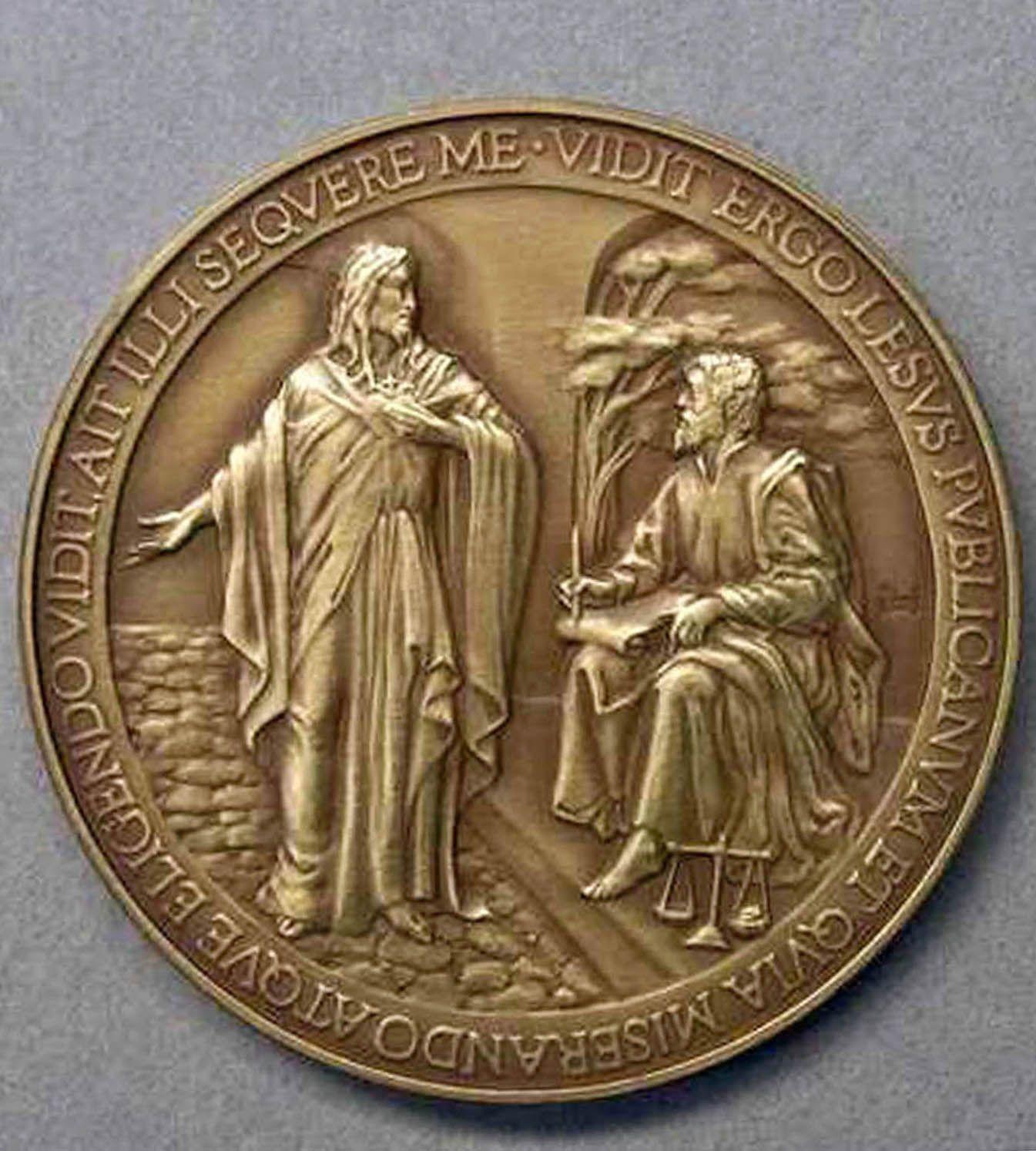 EINMALIGE VERWENDUNG Vatikan / Münze / Lesus