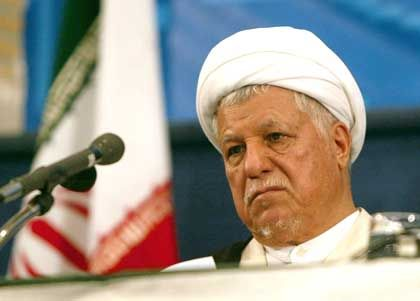 Ali Akbar Hashemi Rafsanjani is the front runner going into Friday's vote.