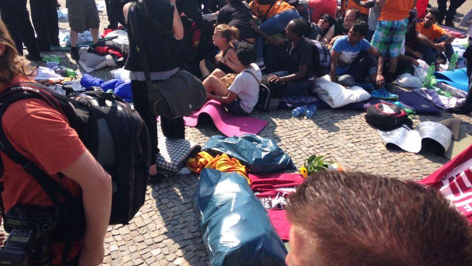 Flüchtlinge in Berlin: Räumung nach gescheiterten Verhandlungen