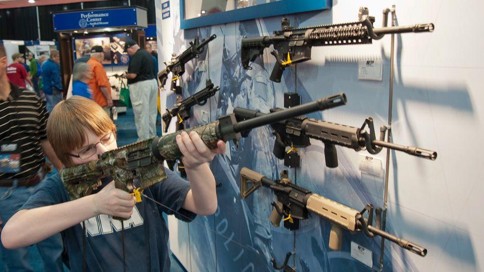 In den USA sind Schusswaffen weitverbreitet (Symbolbild)
