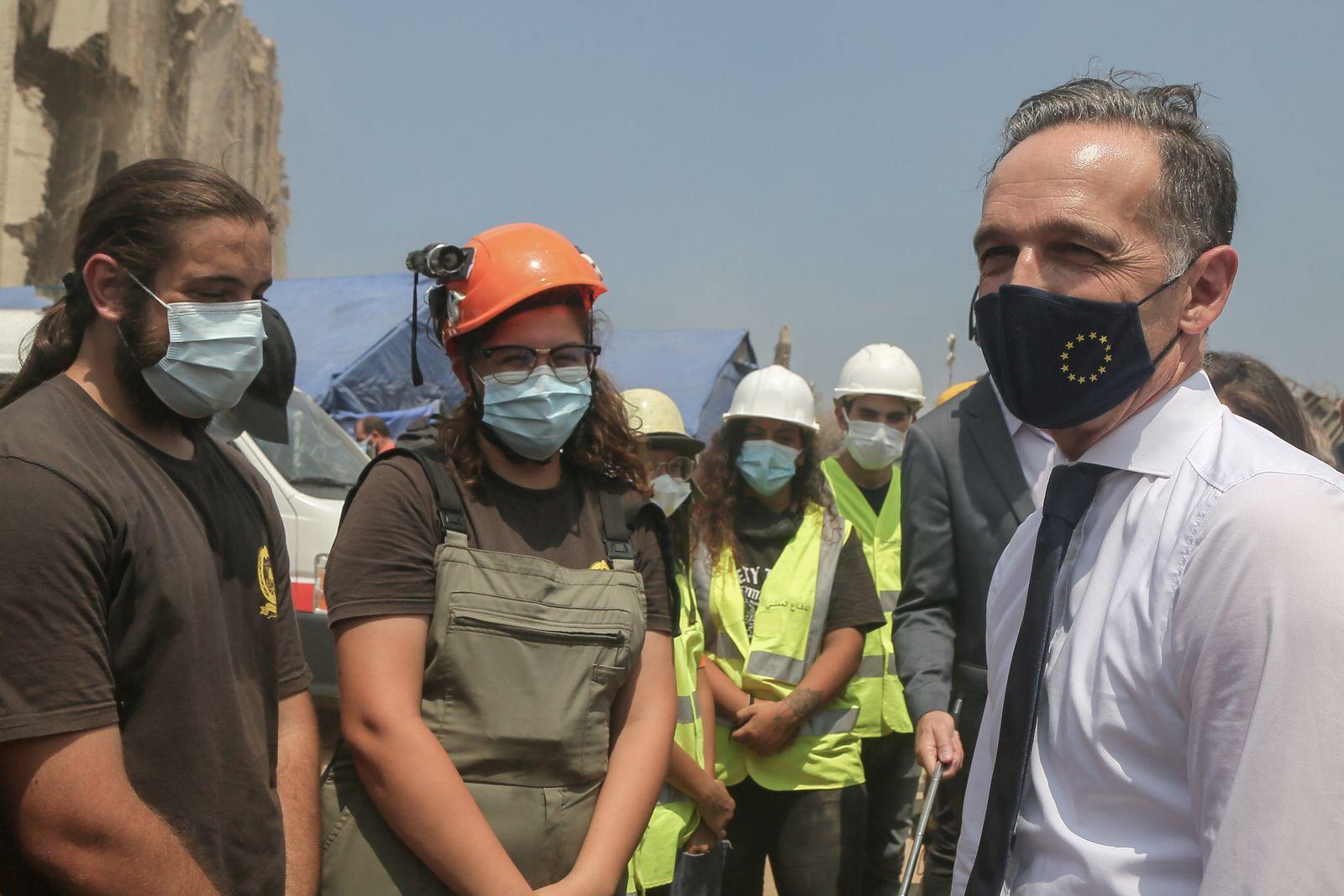 Außenminister Maas besucht Beirut