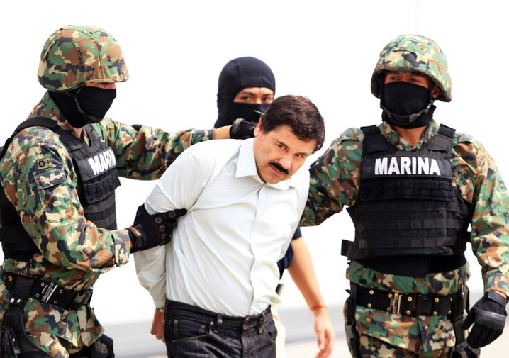 """A house in Culiacán, Mexico, from which drug boss Joaqiín """"El Chapo"""" Guzmán (pictured here) fled in 2014, is being raffled off in September."""