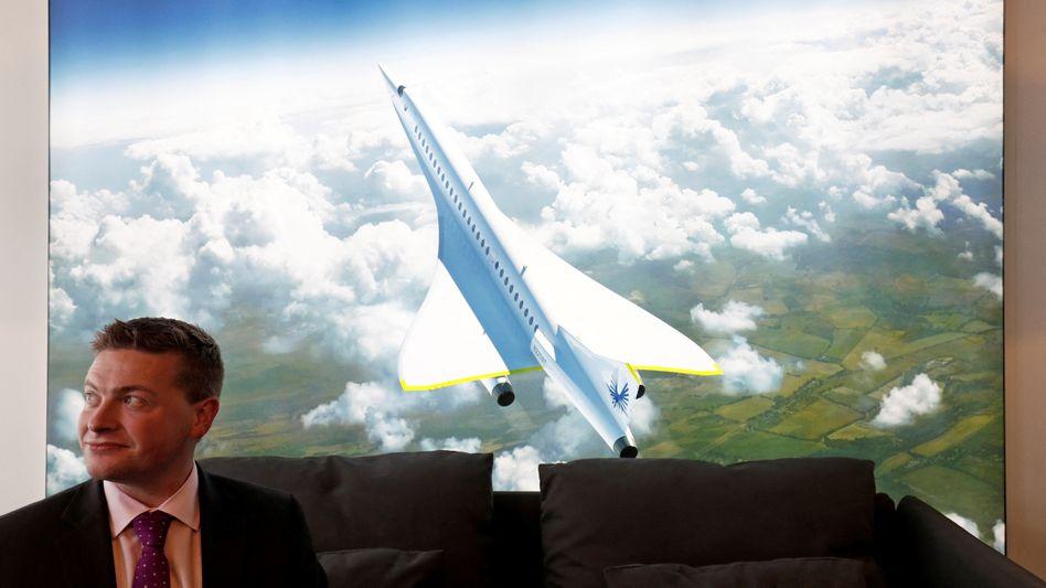 Boom-Supersonic-Mitgründer Blake Scholl: Im Liniendienst ab 2029?