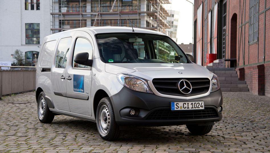 Mercedes-Benz Citan: Glückloser Lieferwagen von Daimler