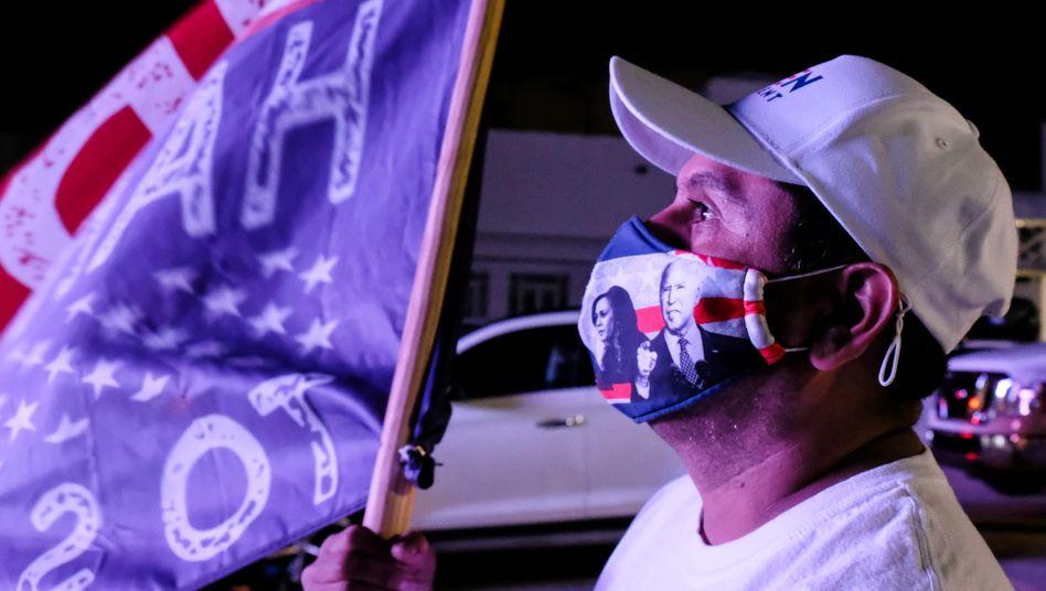Biden-Unterstützer in Florida