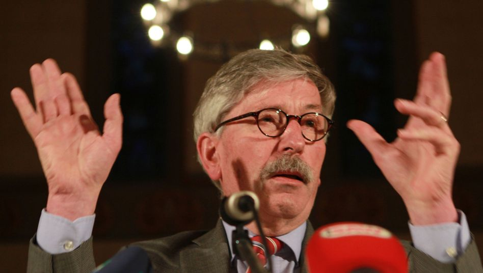Thilo Sarrazin, pictured here in April, is outraged.