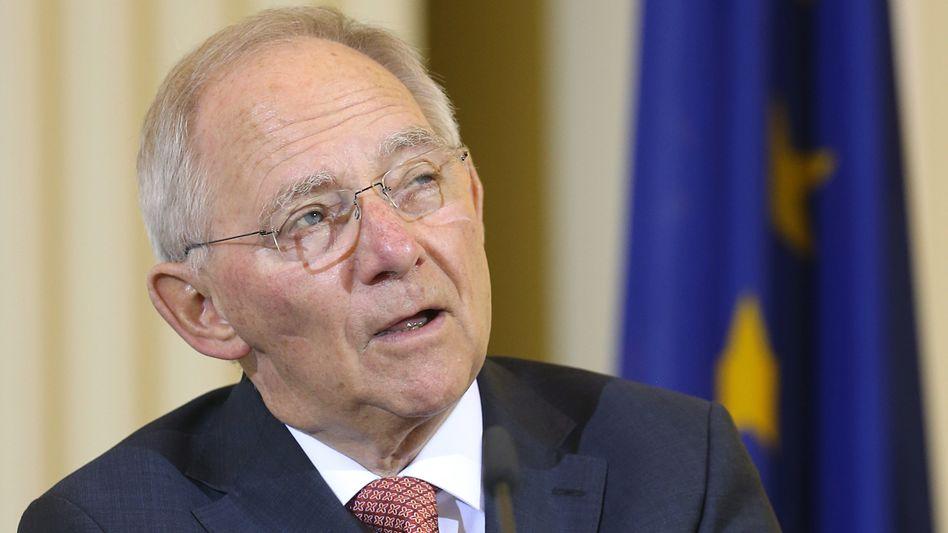 Finanzminister Schäuble (Archiv): Keine neue Schulden