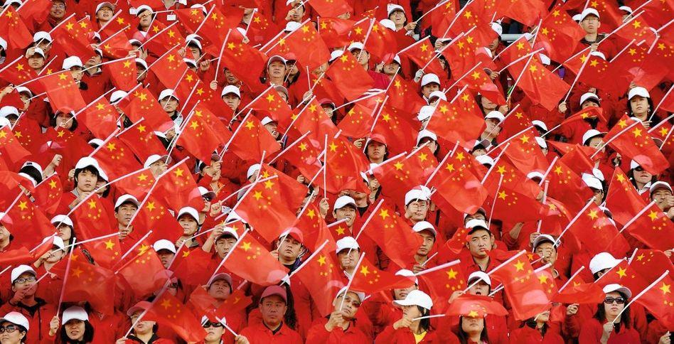 Probe für die Feierlichkeiten zum 60. Jahrestag der Volksrepublik