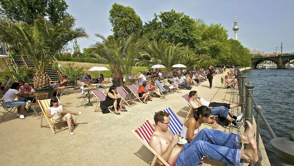 Sommer in Deutschland: Sand and the City