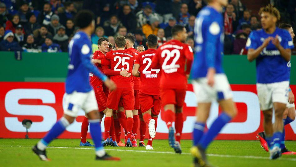DFB-Pokal: Schalke 04 verliert gegen Bayern München - Letzte ...