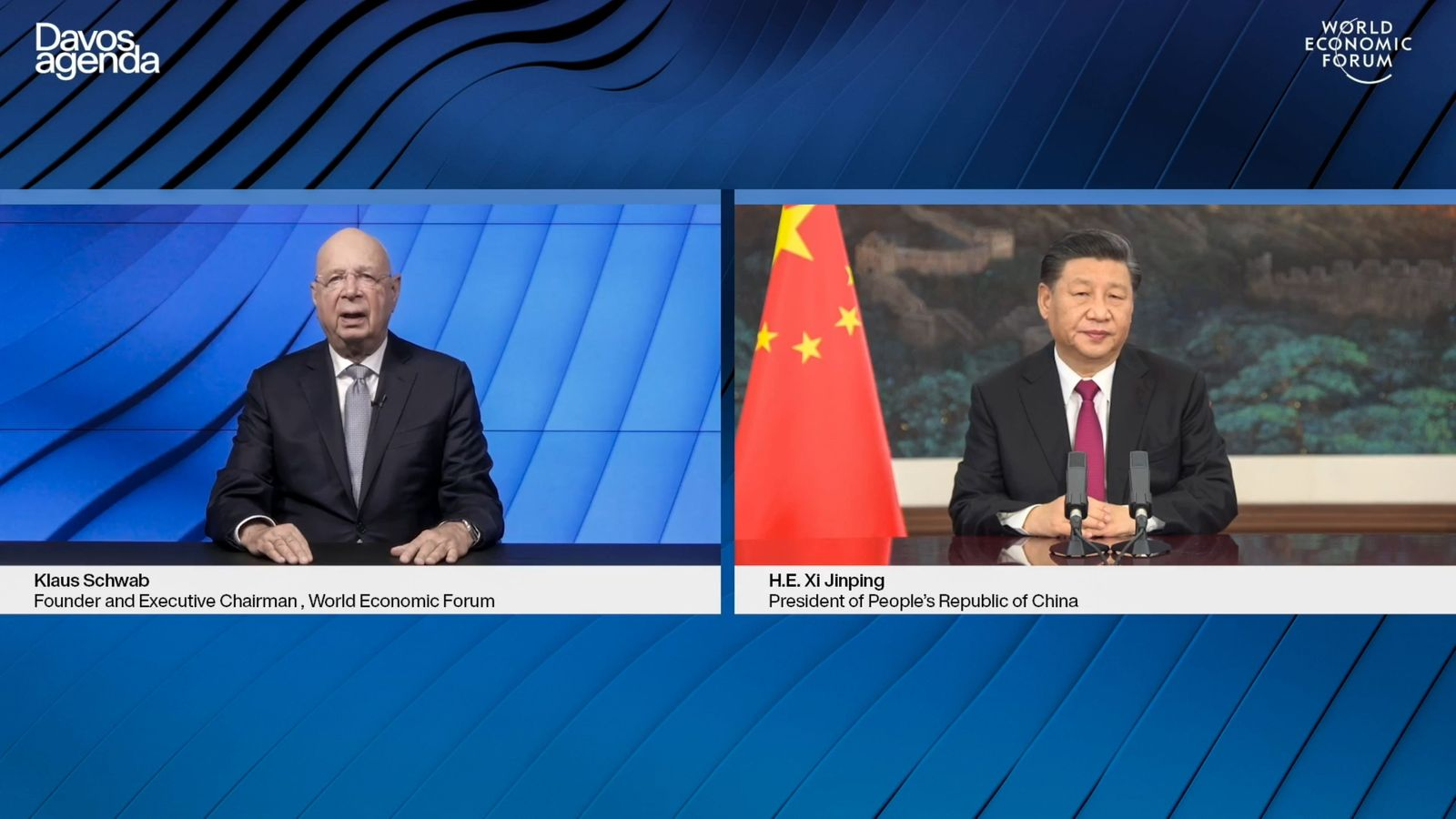 SWITZERLAND-CHINA-WEF-ECONOMY-POLITICS-DIPLOMACY