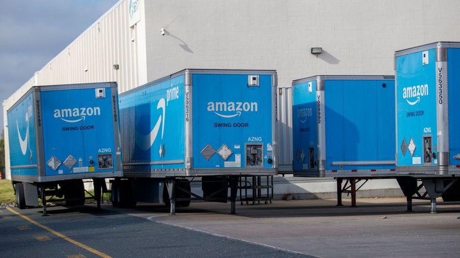 Lastwagen-Auflieger von Amazon: Künftig selbstfahrend unterwegs?