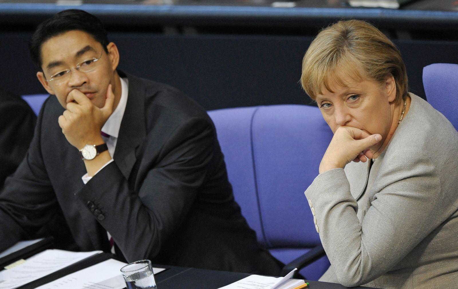 NICHT VERWENDEN Rösler Merkel