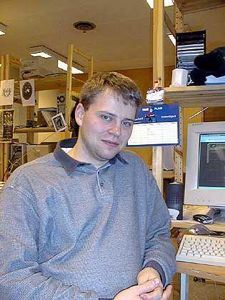 Jens-Christian Skibakk: Techniker, kein Spinner