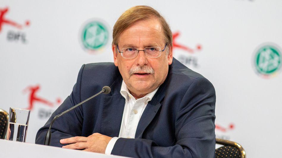 DFB-Interimspräsident Rainer Koch: Eidesstattliche Versicherung im Streit mit PR-Frau Jahrreis