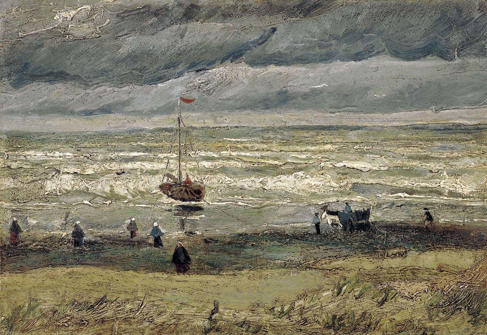 "van Gogh / ""Seebad Schevening"""