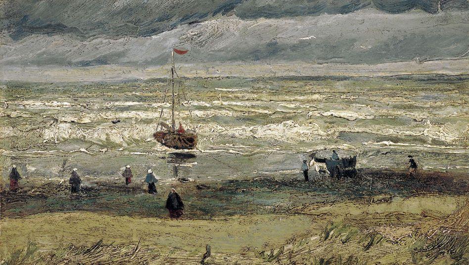 """Van-Gogh-Gemälde """"Sturm am Den Haager Seebad Scheveningen"""""""