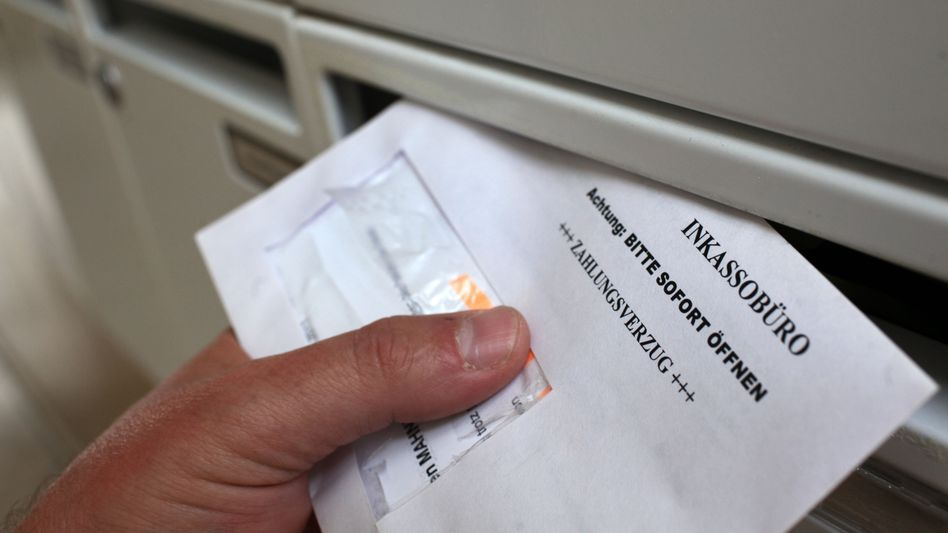Brief eines Inkassobüros: Gebühren nach Gutsherrenart?