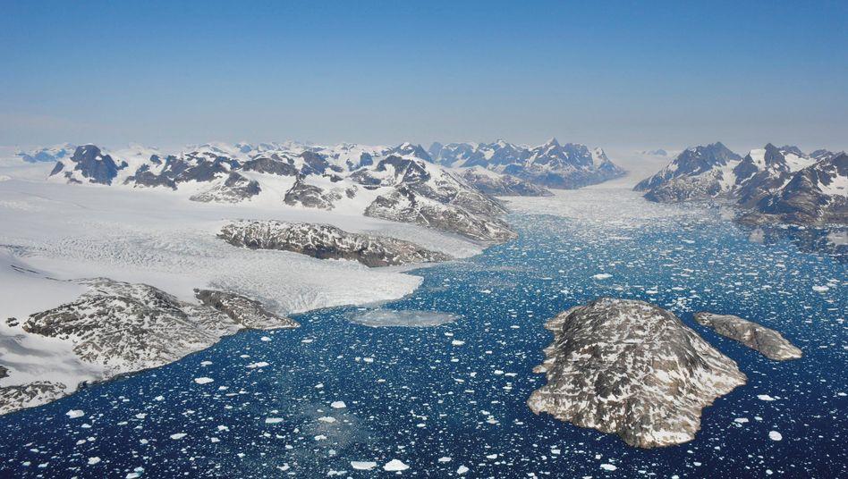 Mogens Heinesen Fjord, Grönland: 2100 könnten jedes Jahr hundert Millionen Menschen von Überschwemmungen betroffen sein