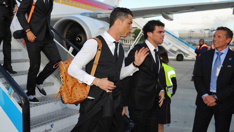 MCM: Das sind die Edelrucksäcke von Cristiano Ronaldo und Co