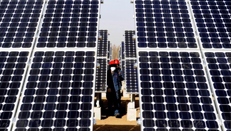 Solarpanele in Yulin: Einfuhren aus China für 21 Milliarden Euro im Jahr