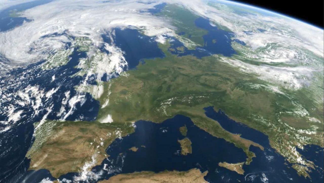 Wetter Satellitenfilm