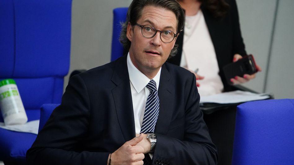 Andreas Scheuer im deutschen Bundestag