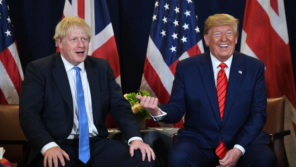 Boris Johnson und Donald Trump (im September 2019)